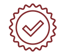 Check on a Stamp Icon