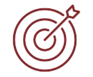 Dart on a Target Icon